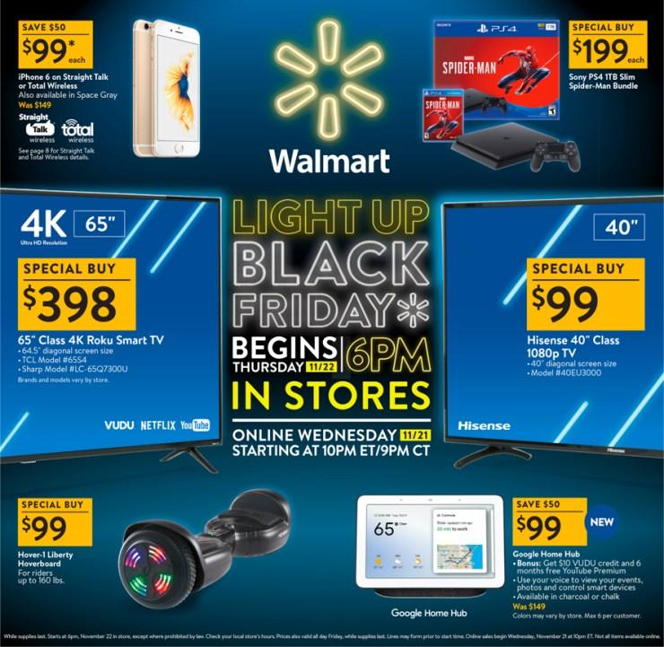 Walmart Black Friday 2018 Ad BF2018 NOV 8