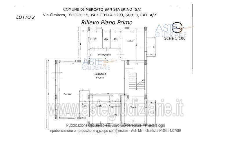 Appartamento in Asta a Salerno in Via Cimitero 15