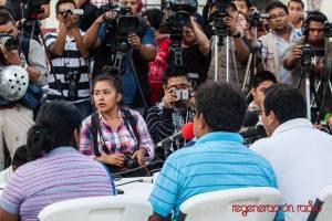 20141107 Conferencia de prensa Ayotzinapa