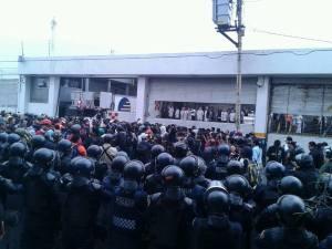 Detenciones ilegales durante movilización 20 de noviembre.