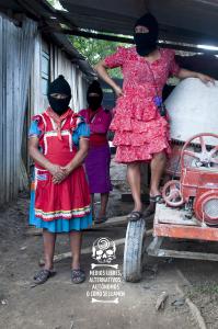 Mujeres Zapatistas en La Realidad Chiapas