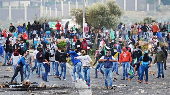 palestiniana-protest- police-shooting-kafr-kanna-20141108