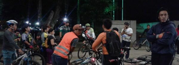 Villahermosa, Tabasco. Rodada nocturna del 1 de diciembre en solidaridad con Ayotzinapa