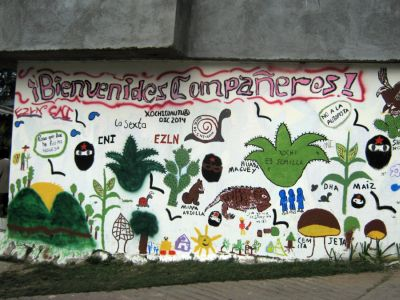 mural - xochi- bienvenidos--