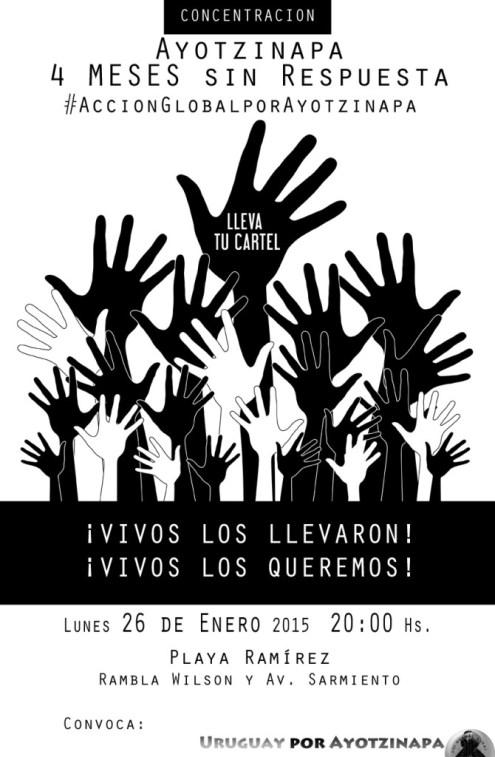 Afiche-ayotzinapa-26Ee2015-PlayaRamirez-CONVOCA