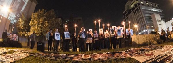 De norte a sur, de este a oeste: Ayotzinapa en Nuevo León.