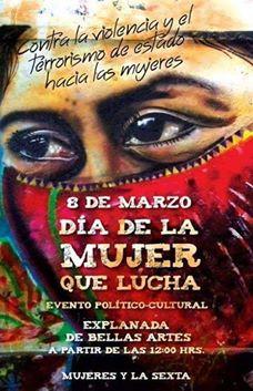 8 de marzo 2015 Mujeres y la Sexta