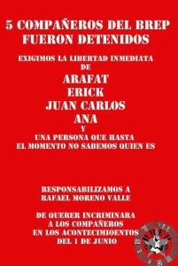 5 estudiantes detenidos en Puebla