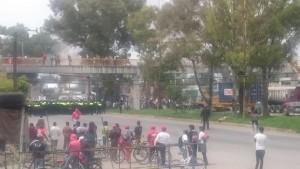 Policia en Atenco