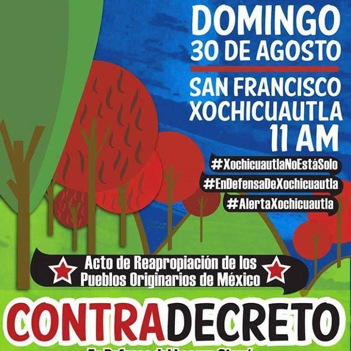 20150830Contradecreto en Xochicuautla