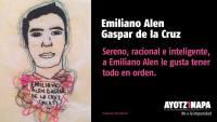 29 Emiliano Alen Gaspar de la Cruz