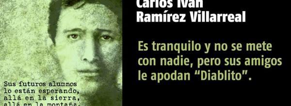 A 36 días #YoTeNombro Carlos Iván Ramírez Villarreal #Ayotz1napa #43Ayotzinapa