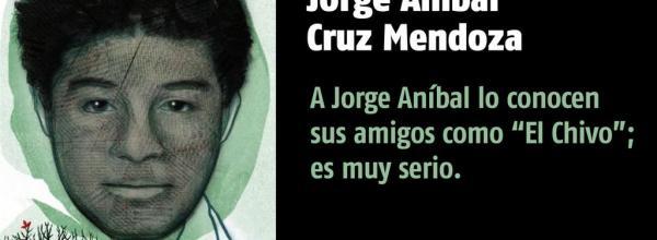 A 20 días #YoTeNombro Jorge Aníbal Cruz Mendoza #Ayotz1napa #43Ayotzinapa