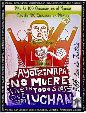Ayotzinapa no muere