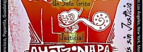A un año ¡Ayotzinapa arenga!