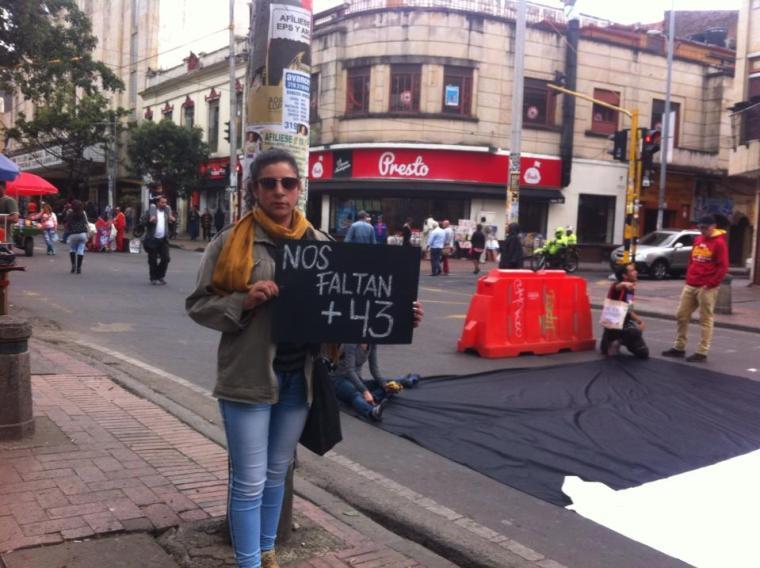 Bogota por los 43 8