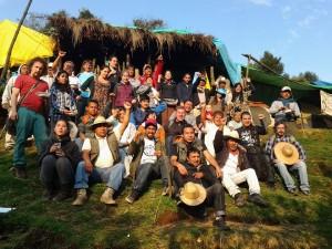 Delegaciones de 11 paises se solidarizan con Xochicuautla