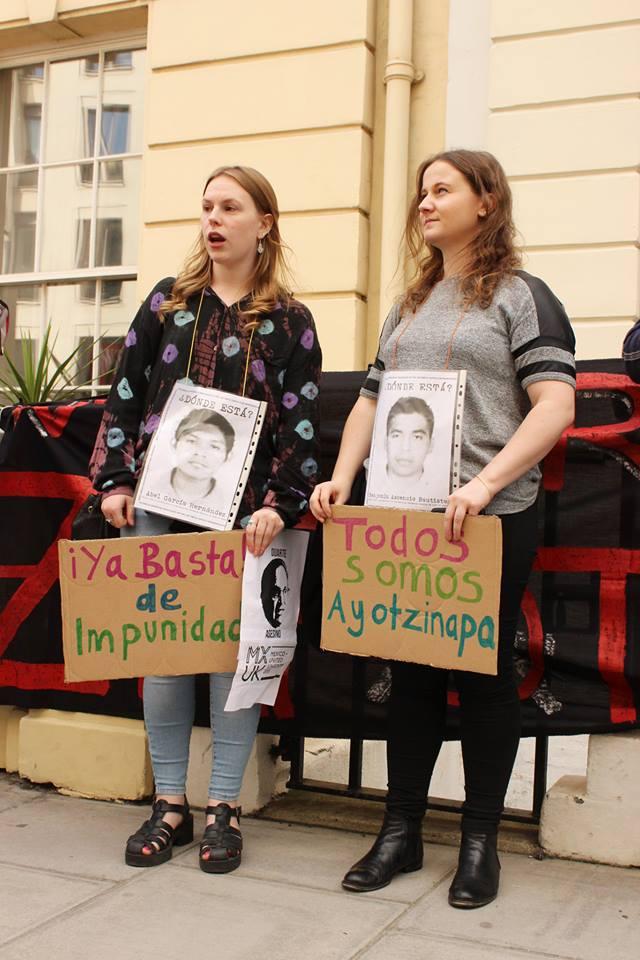 Londres con Ayotzinapa a 1 año 3