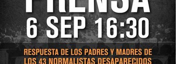 Transmisión en vivo 16:30 Padres y madres de Ayotzinapa responderán al informe del Grupo de expertos de la CIDH