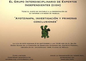 Primer Informe GIEI-CIDH-Ayotzinapa