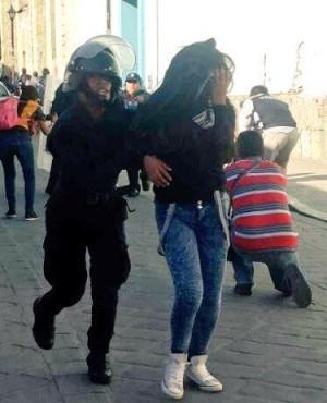 9 detenidos presentados ante la fiscalia de oaxaca