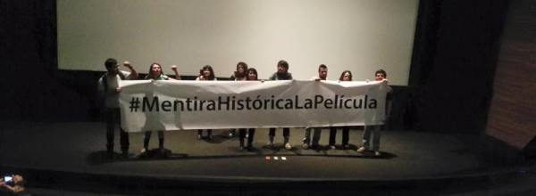 #MentiraHistoricaLaPelicula ¡Basta ya!