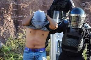 20151111 Ataque policial contra Ayotzinapa 13