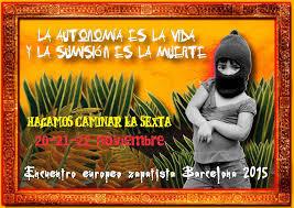 Europa Zapatista Barcelona 2015