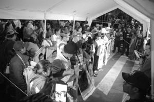 Instalacion planton Ayotzinapa 3