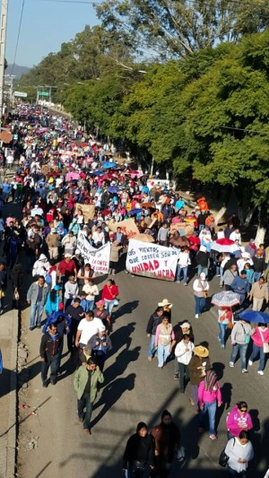 Oaxaca el examen punitivo ya cayo