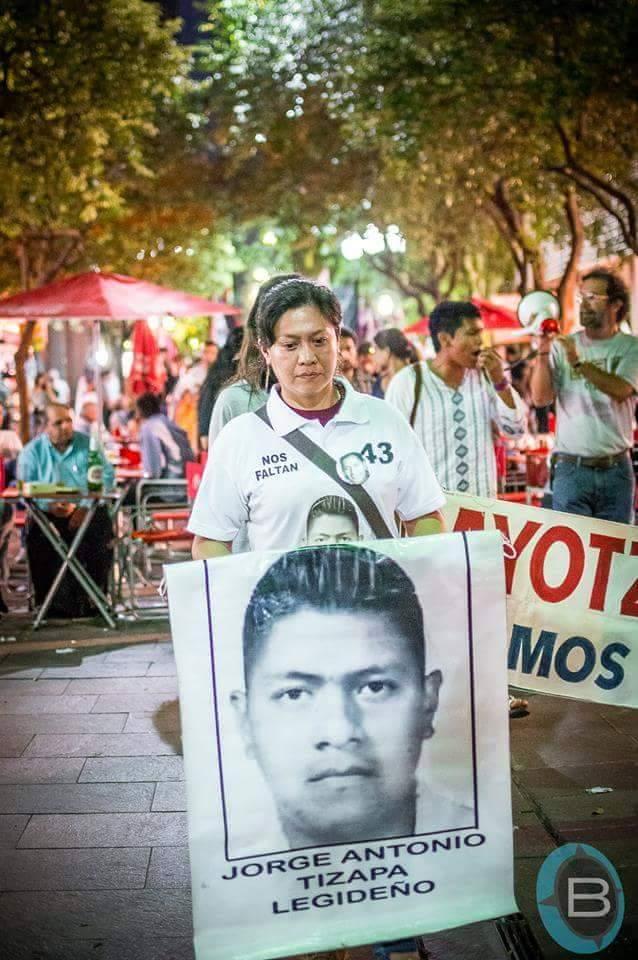 43 horas de huelga de hambre por los 43 de Ayotzinapa en Nueva York 3