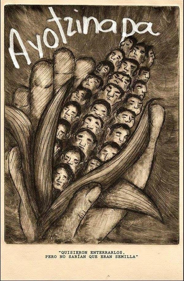 Ayotzinapa mes numero 15