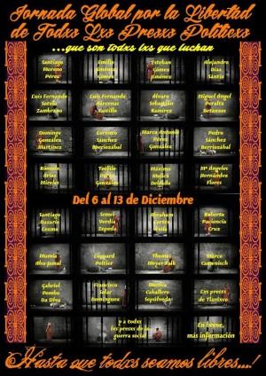 Madrid por nuestros presos y nuestras presas