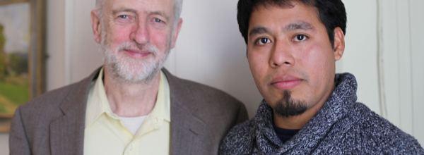 Ayotzinapa en Londres: Omar García en el Parlamento Británico