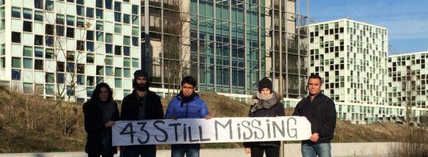 18 ene, La Haya, Holanda: Acto en la Corte Penal Internacional por los 43 estudiantes desaparecidos de Ayotzinapa