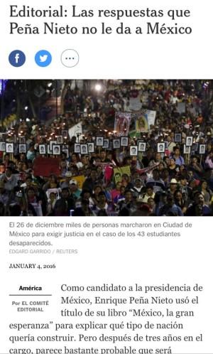 Las respuestas que Peña Nieto no le da a Mexico
