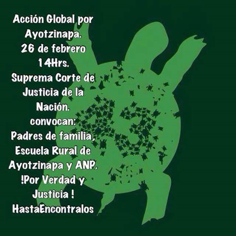 XXI Accion Global por Ayotzinapa