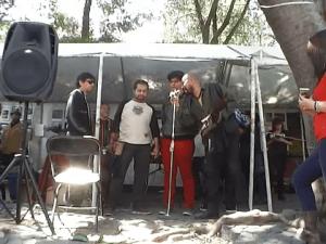 XV años de Radio Zapote en el Chopo