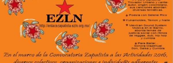 9 abr: Festival compARTE, conCIENCIAS por la Humanidad y por Ayotzinapa