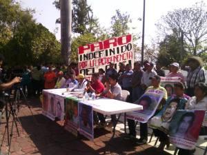 Paro en Ayotzinapa