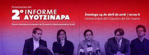 Tranmision en vivo 2o Informe GIEI Ayotzinapa