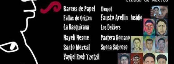 26 ago: Voces por los 43 #Ayotzinapa