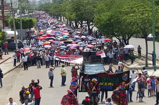 CNTE Chiapas firme y fortalecida a mas de 100 dias de lucha
