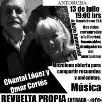 13 jul: En recuerdo y memoria de Chantal López y Omar Cortés