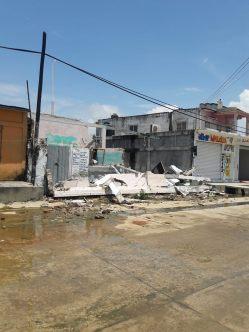 Daños en Puerto Arista 13