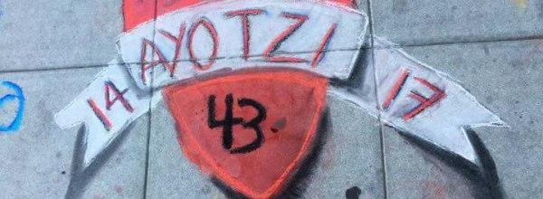 Ayotzinapa: Solidaridad de maestrxs y trabajadorxs de la educacion en E.U.