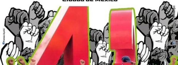 25 de mayo: Madres y padres de Ayotzinapa convocan a plantón por Mactumactzá y Teteles