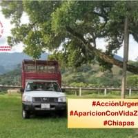 Acción Urgente: Desaparición y riesgo a la vida e integridad de autoridades autónomas en Chiapas