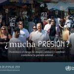La hipertensión es el tema del Día Mundial de la Salud