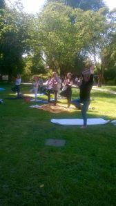 Yoga Insieme (22 maggio 2016) - Posizione dell'Albero